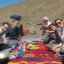 2 day trek atlas mountains