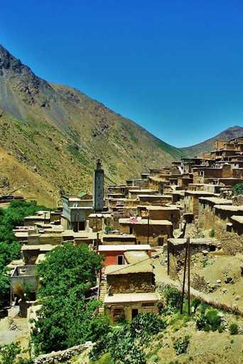 Atlas valleys treks and berber villages